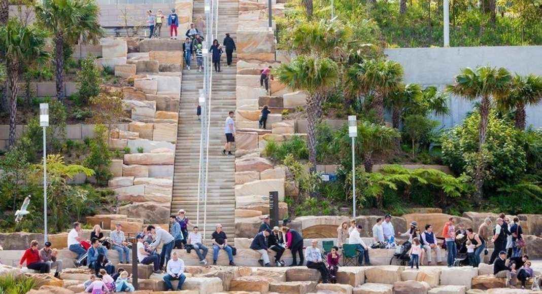 AAP Landscape Design of The Year: Barangaroo Reserve by PWP Landscape Architecture : Photo credit © PWP Landscape Architecture