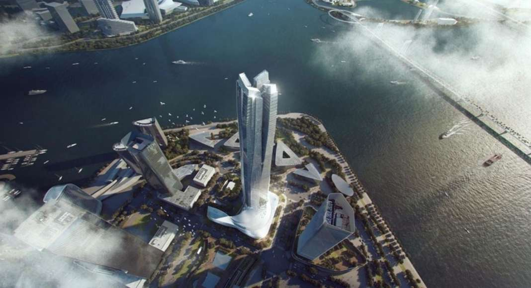 AAP Architectural Design Of The Year: Hengqin International Financial Center by Aedas : Photo credit © Aedas Limited