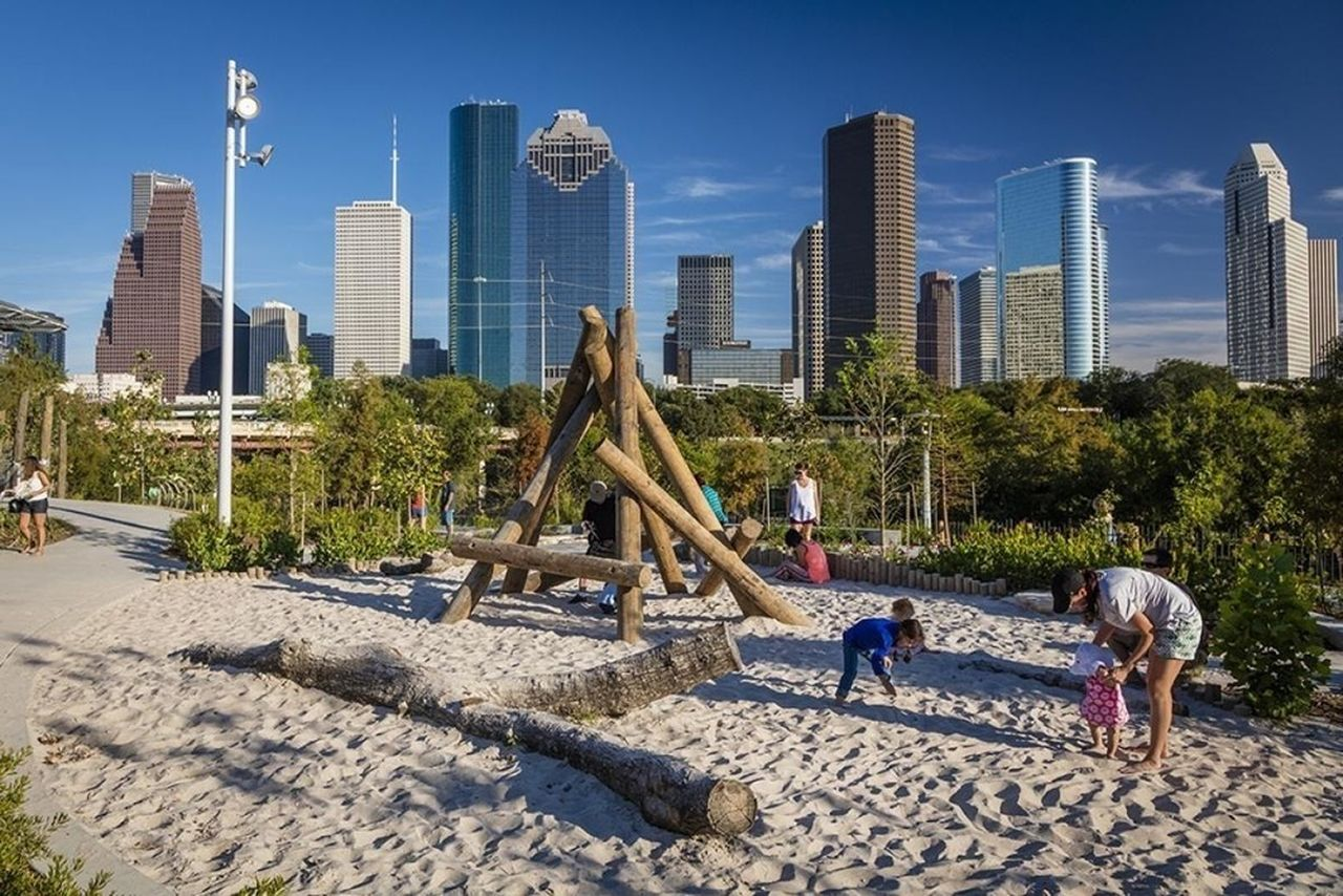 Buffalo Bayou Park : Photo credit © SWA Group