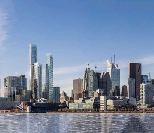 View From Toronto Harbour : Photo credit © Hariri Pontarini Architects