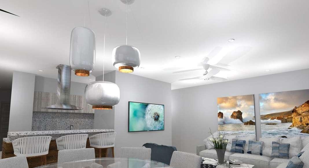 Avento® Sala-Comedor un desarrollo de Frondoso Grupo Inmobiliario : Fotografía © Frondoso Grupo Inmobiliario