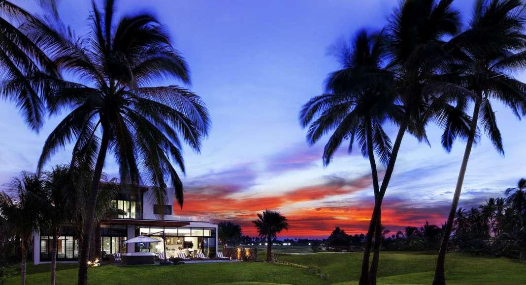 Club de Golf 3 Vidas Vista Panorámica Exterior : Fotografía © LAMZO Design Studio