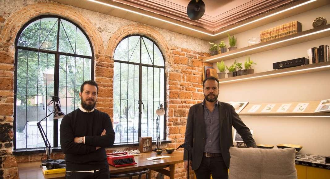 Design House Sinestesia Quintanilla ESTUDIO - Alejandro Quintanilla y Rodrigo Luna en la Design Week México 2017 : Fotografía cortesía de © Fine Floors México