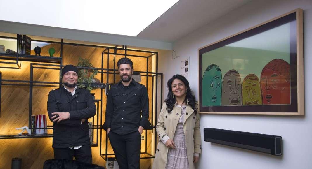 Design House Studio Spazio Estudio Exterior por Pedro Ávila Oswaldo Sánchez y Moka Esquivel en la Design Week México 2017 : Fotografía cortesía de © Fine Floors México