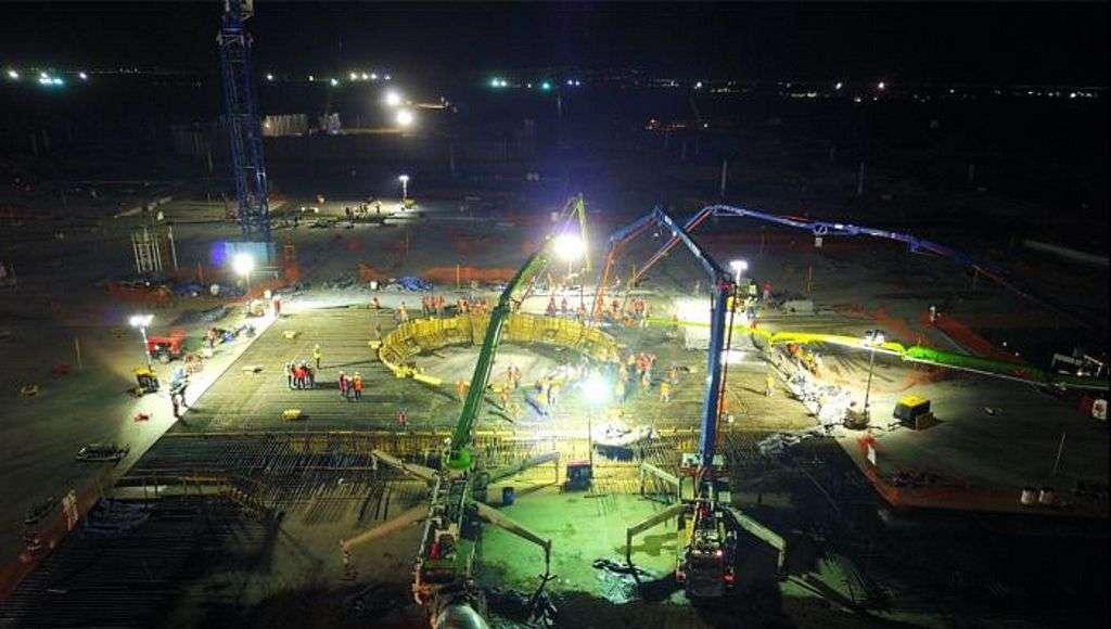 Holcim México participa en esta fase de construcción de manera conjunta con ICA e IDINSA : Fotografía © Holcim México