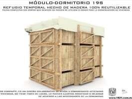 Modulo-dormitorio 19s diseñado por 1521 : Fotografía © 1521