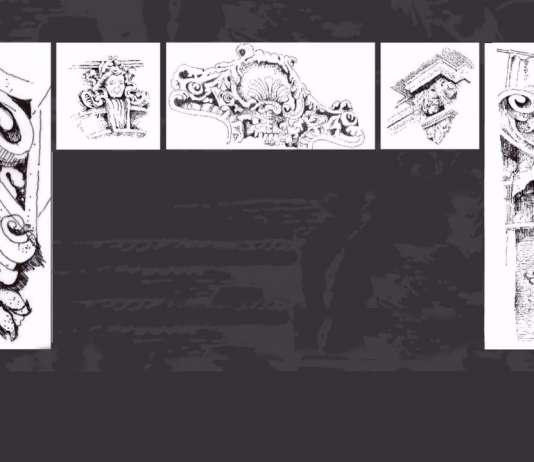 Presentación del Glosario Ilustrado de la Colonia Juárez : Ilustración © Elena Segurajáuregui