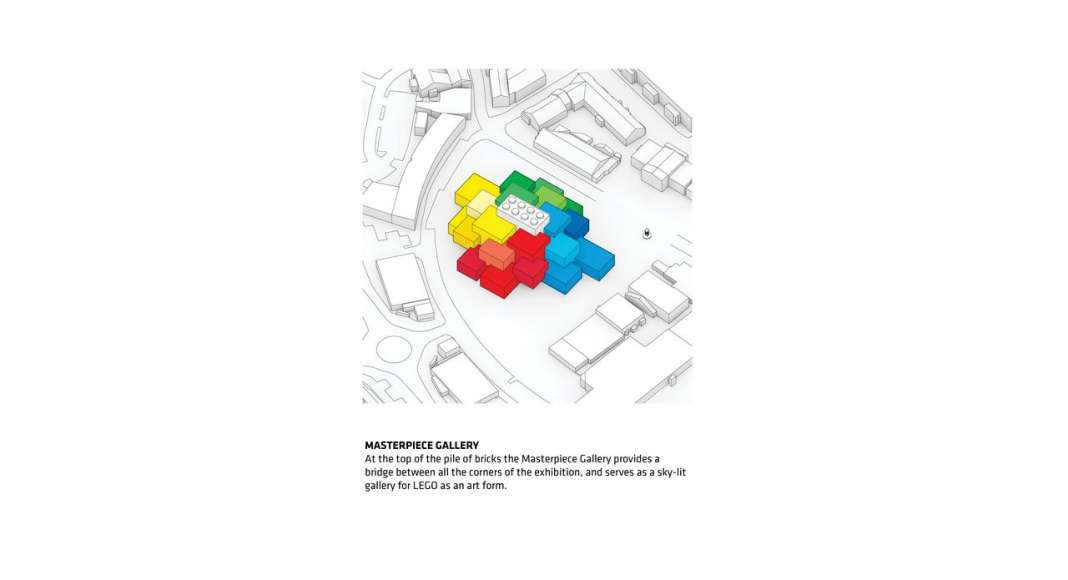 LEGO House in Billund, Denmark : Diagram © BIG — Bjarke Ingels Group