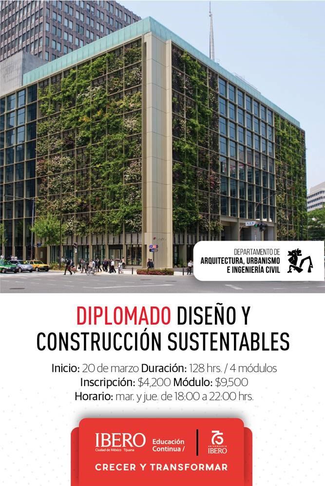 Diplomado Diseño y Construcción Sustentables