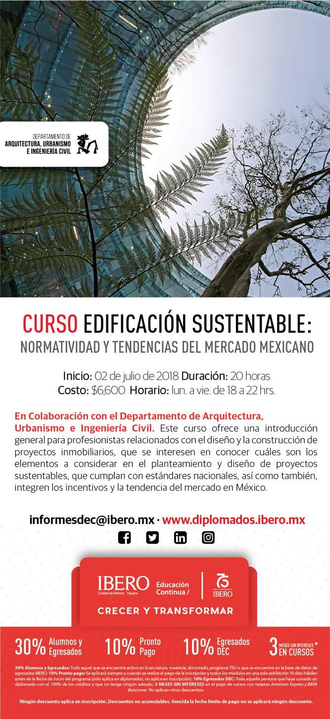 Edificación Sustentable: Normatividad y Tendencias del